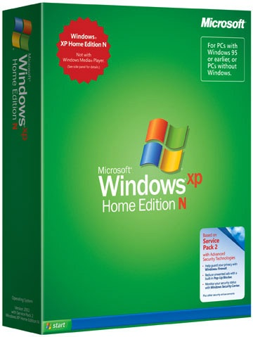 Windows XP Home Edition N